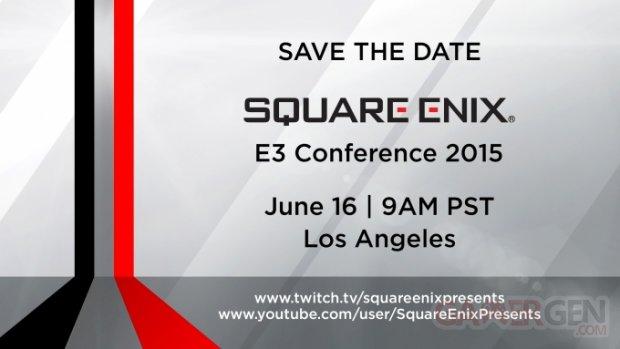 Square Enix confe?rence E3 2015