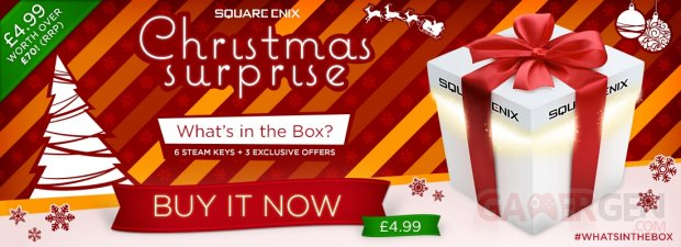 square enixChristmas Surprise