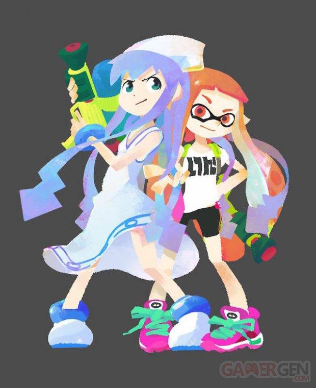 squid girl ika musume costume splatoon