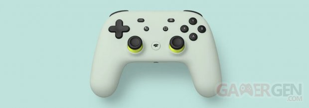 Stadia Controller manette pic wasabi