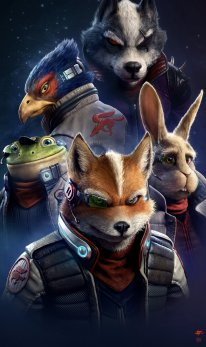 Star Fox Raf Grassetti art 1
