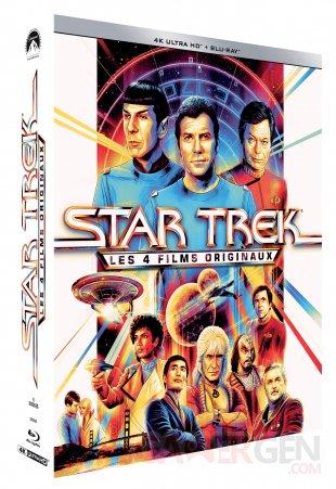 Star Trek Coffret 4 films UHD Pack 3D