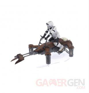 Star Wars 74 Z SPEEDER BIKE Drone Propel