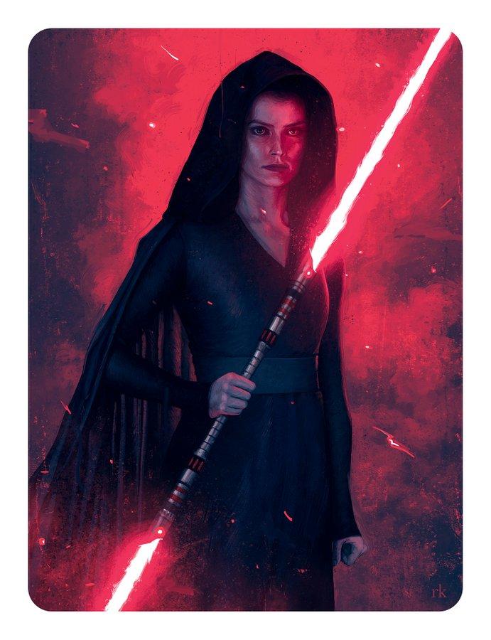Star Wars L/'ascension de Skywalker Chevaliers de Ren Femme Coupe Boyfriend T-Shirt