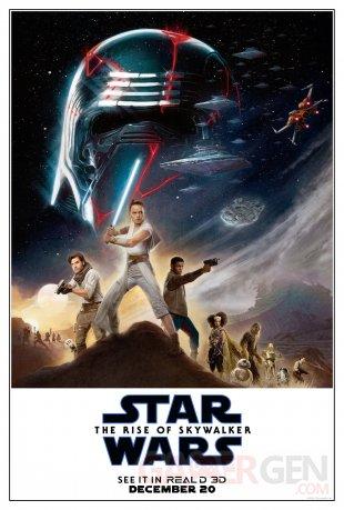 Star Wars Ascension de Skywalker poster 02 30 11 2019