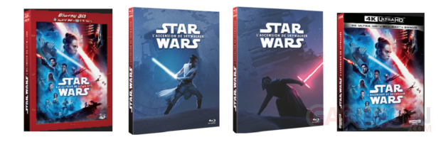 Star Wars Ascension Skywalker DVD Blu Ray
