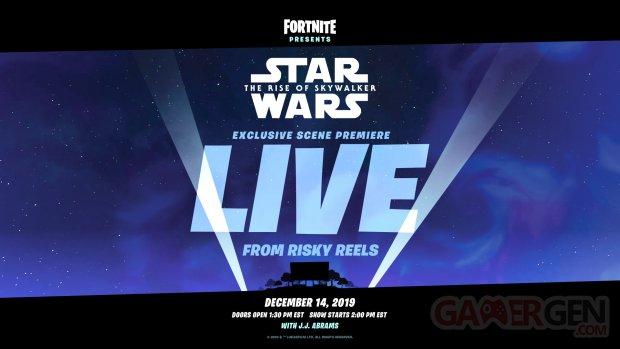 Star Wars Ascension Skywalker Fortnite Exclu