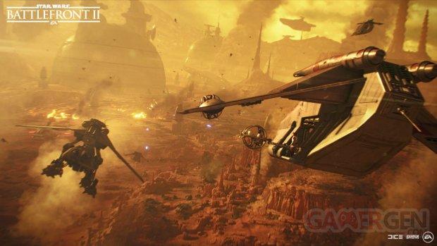 Star Wars Battlefront II Geonosis
