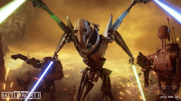 Star Wars Battlefront II personnages image general grievous