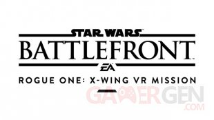 Star Wars Battlefront Rogue One X Wing VR Mission logo