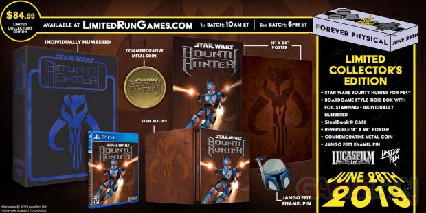 Star Wars Bounty Hunter collector 25 06 2019
