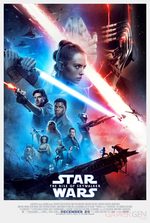 Star Wars  L'Ascension de Skywalker  affiche poster image