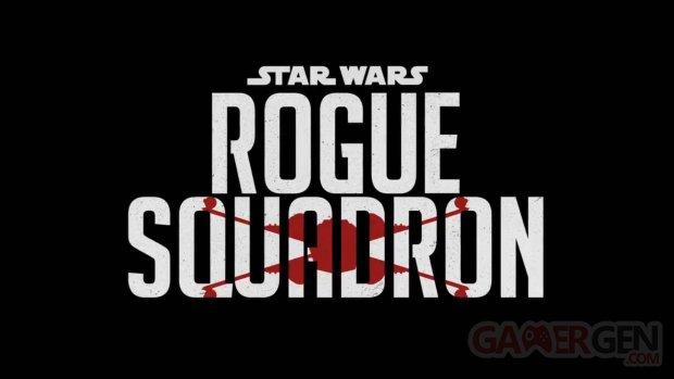 Star Wars Rogue Squadron logo film Patty Jenkins