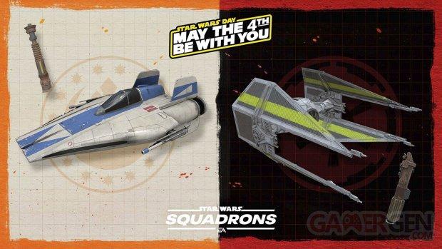 Star Wars Squadrons 29 04 2021 May the 4th bonus