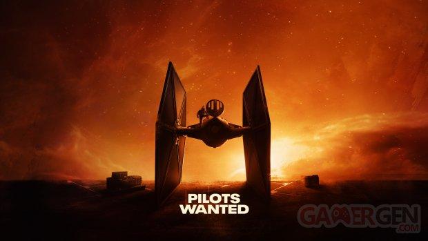 Star Wars Squadrons key art Tie Fighter