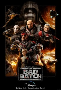 Star Wars The Bad Batch poster affiche