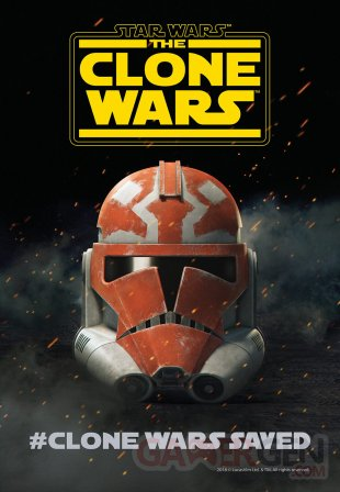 Star Wars The Clone Wars poster SDCC18 19 07 2018