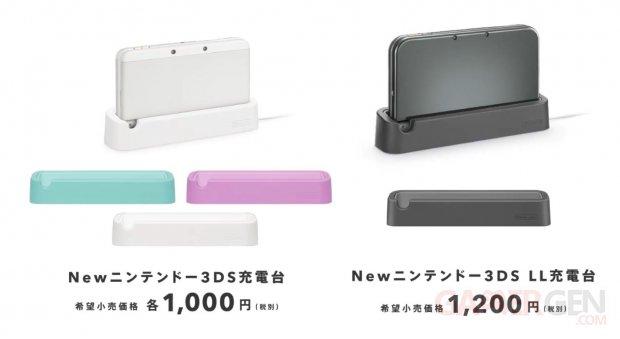 station de recharge dock borne New Nintendo 3DS XL 29.08.2014