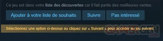 steam liste decouverte