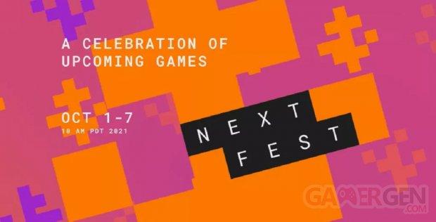 Steam Néo Fest Next Octobre 2021