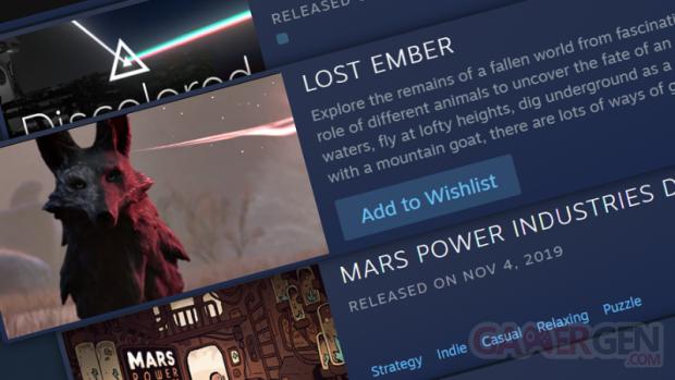 Steam recommandation personnalisée 1