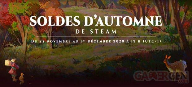 Steam Soldes Automne 2020
