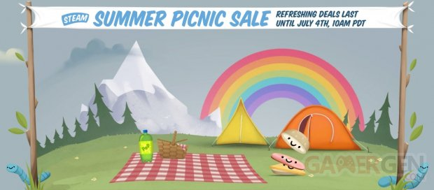 Steam Soldes Ete Picnic Sale