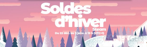 Steam Soldes Hiver 2020