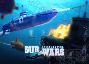 Steel Diver Sub Wars artwork