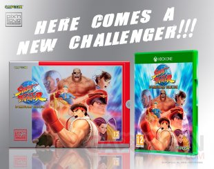 Street Fighter 30th anniversary collection collector Pix n Love Xbox One 13 04 2018
