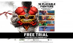 Street Fighter V Arcade Edition Free Trial
