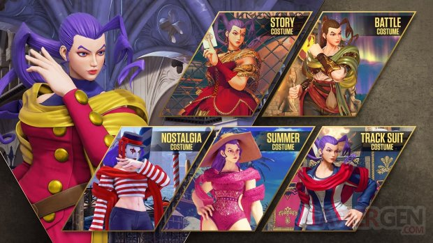 Street Fighter V Champion Edition Rose costumes 18 04 2021