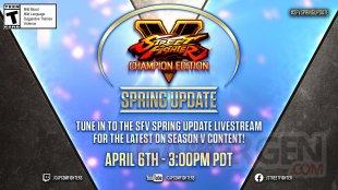 Street Fighter V Champion Edition Spring Update 29 03 2021