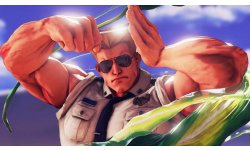 Street Fighter V Guile screenshot