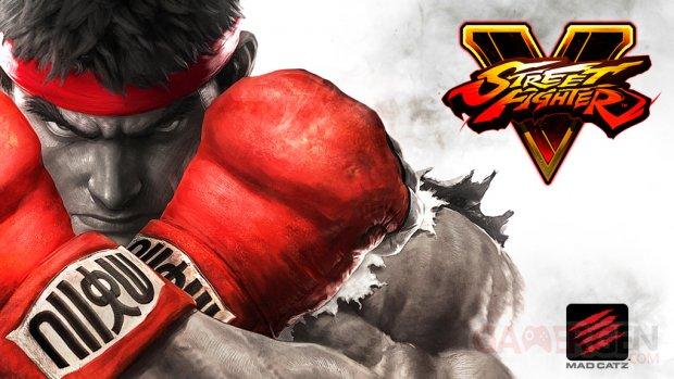 Street Fighter V ryu madcatz