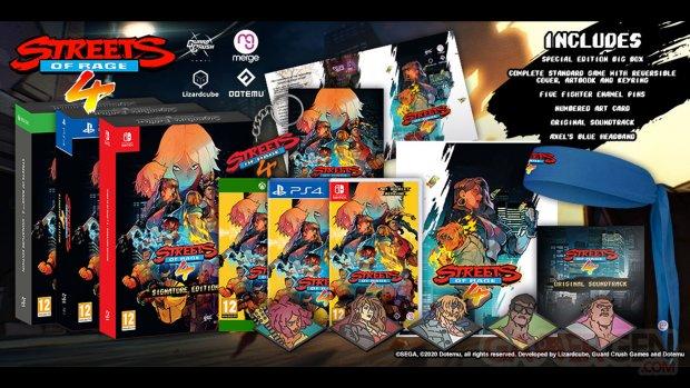 Streets of Rage 4 Signature Edition 1