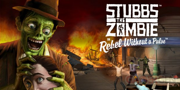 Stubbs the Zombie in Rebel without a Pulse head
