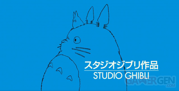 Studio Ghibli logo head