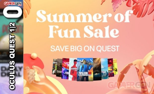 Summer Sale Oculus 2021