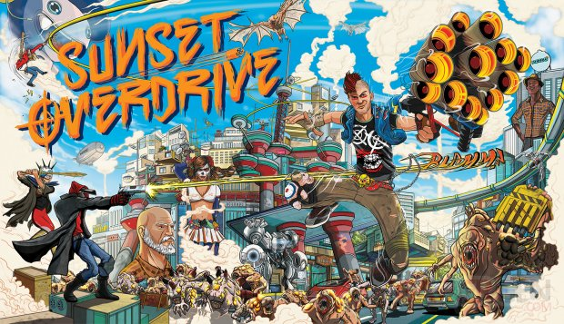 Sunset Overdrive 09 05 2014 key art cover large wallpaper
