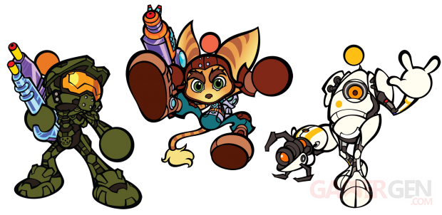 Super Bomberman R Exclusive Characters