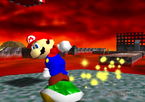 Super Mario 3D All Stars Mario 64 screenshot 4