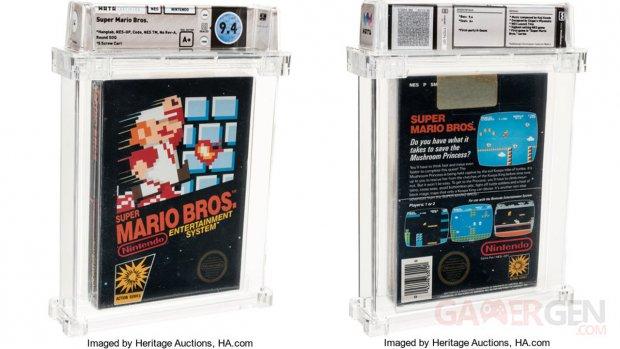 Super Mario Bros enchères