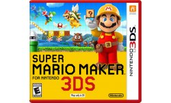 Super Mario Maker For Nintendo 3DS jaquette nord americaine image