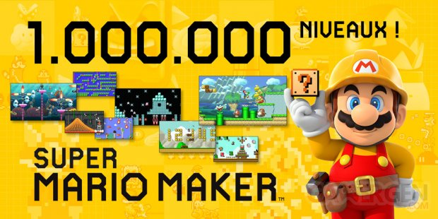 Super Mario Maker Million Niveaux