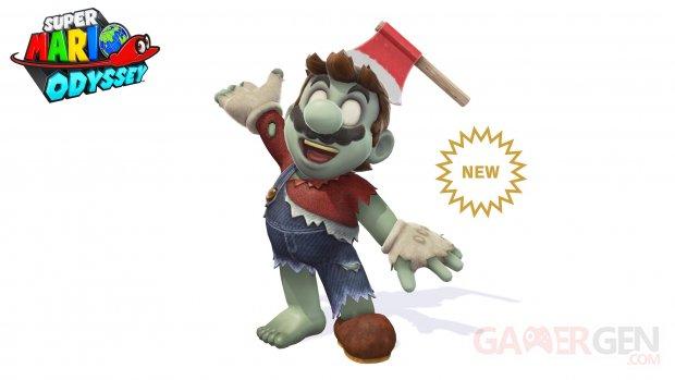 Super Mario Odyssey Halloween