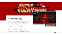 Super Meat Boy PS4 PSVita