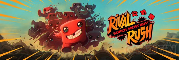 Super Meat Boy Rival Rush banner