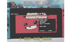 Super Meat Boy VHS Nintendo Switch