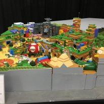 Super Nintendo World maquette01